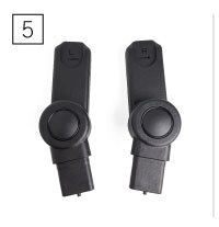 Peach Main Car Seat Adapters