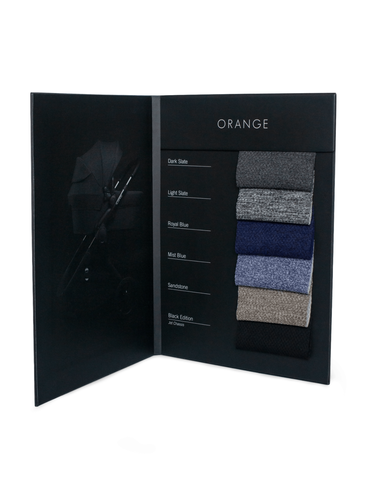 Orange Fabric Swatch