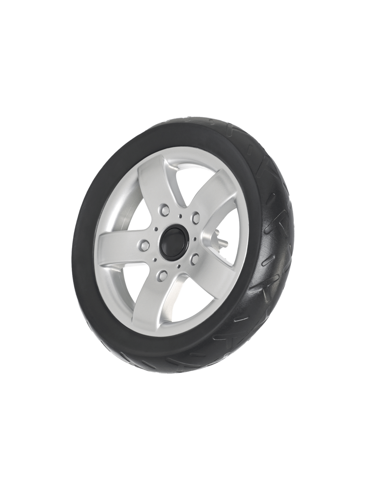 Cherry Rear Wheel & Axle