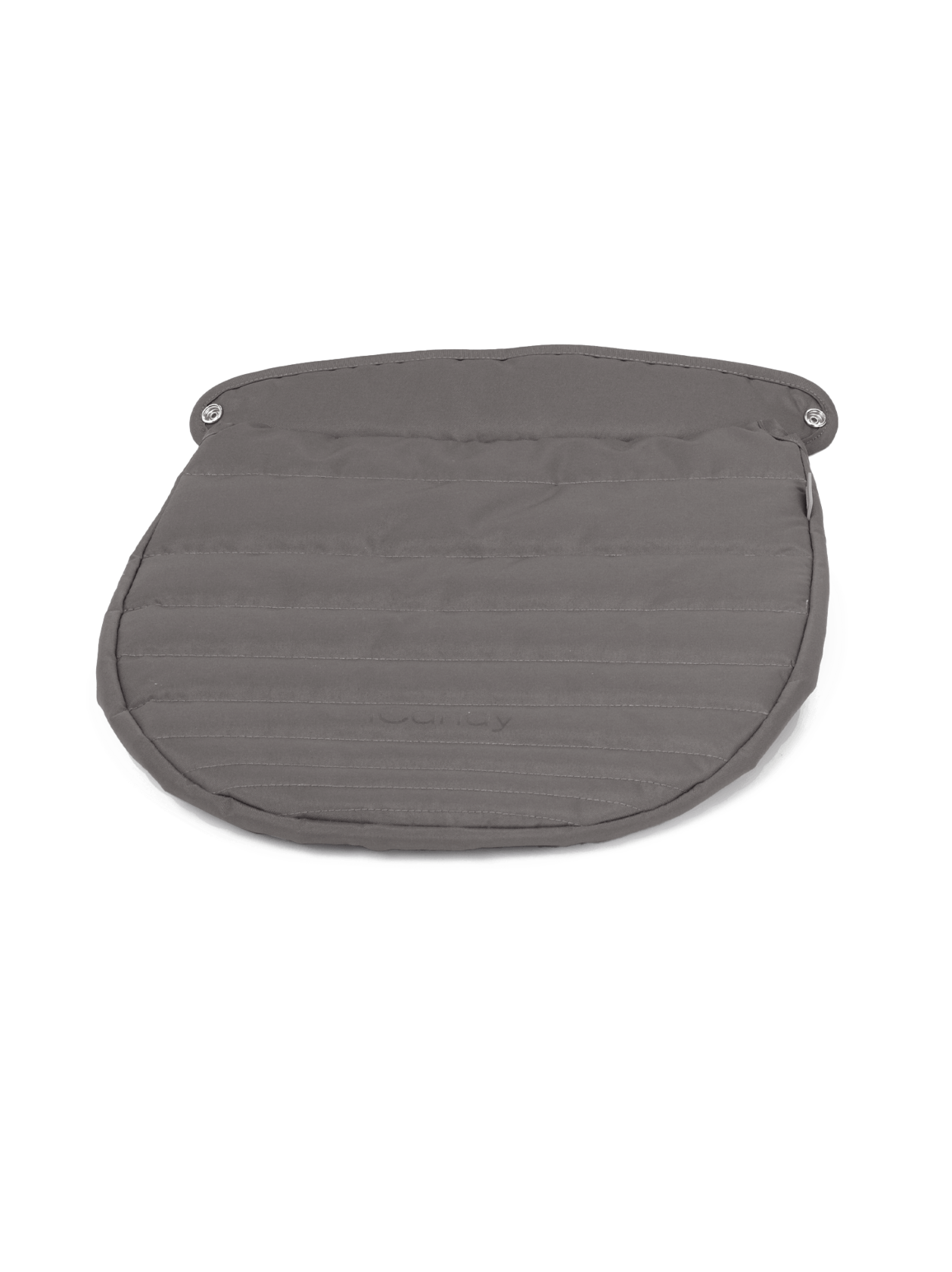 Raspberry Carrycot Apron - Granite