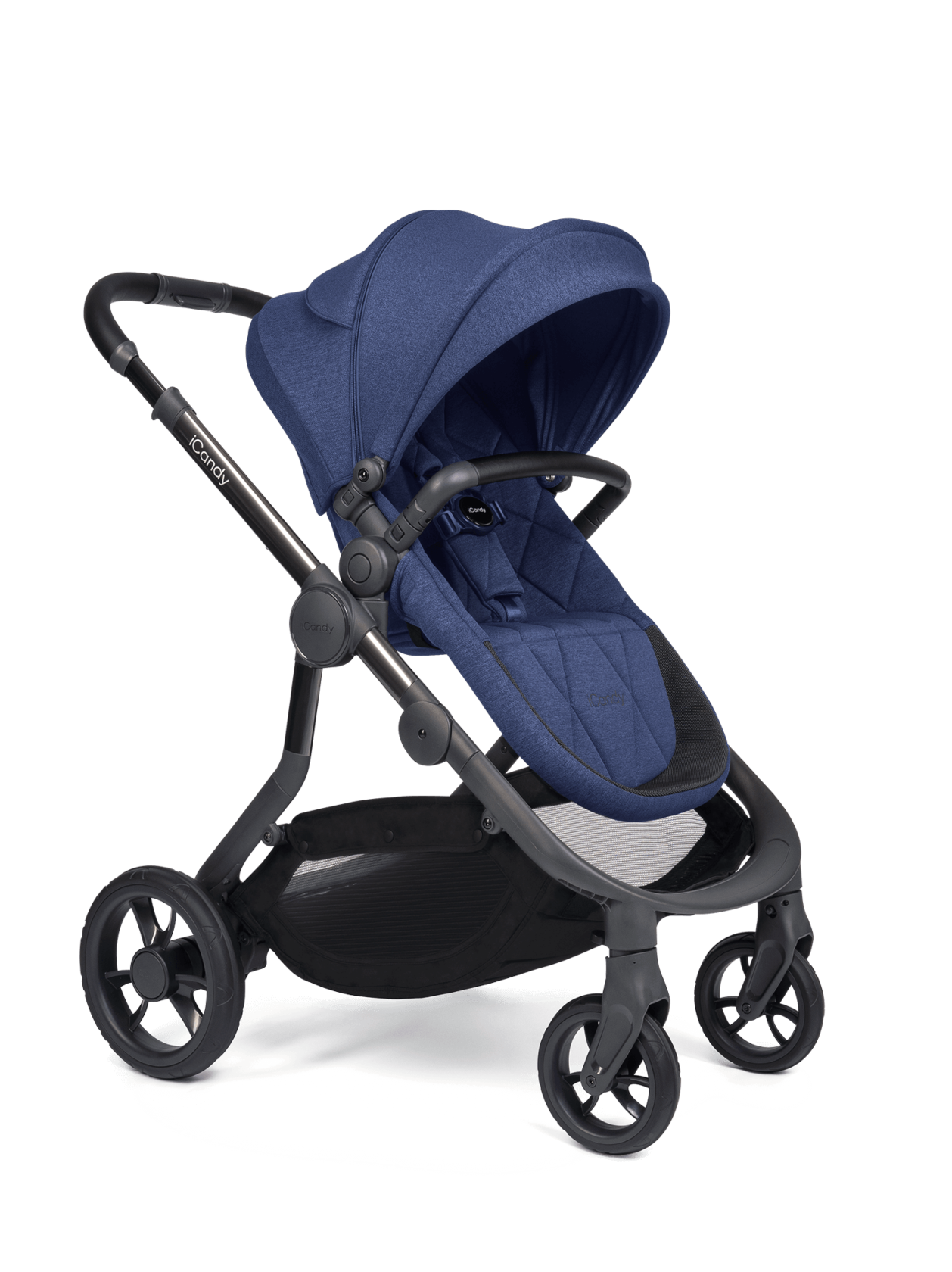 Orange Pushchair and Carrycot - Complete Bundle