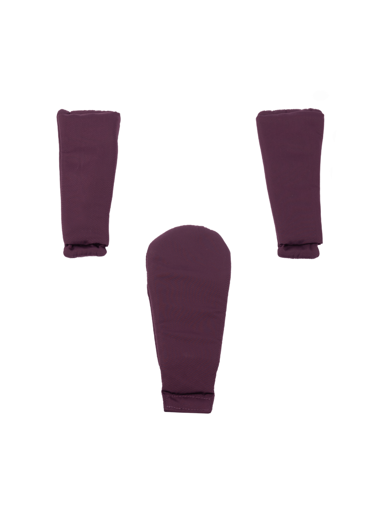 Peach 2018 Harness Pads Only - Damson