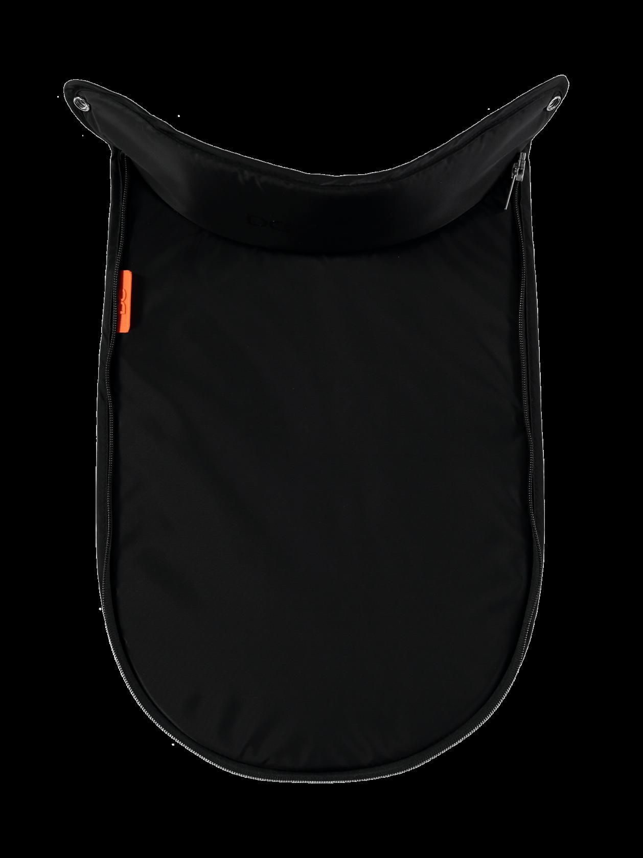 Peach DC Main Carrycot Apron - Black