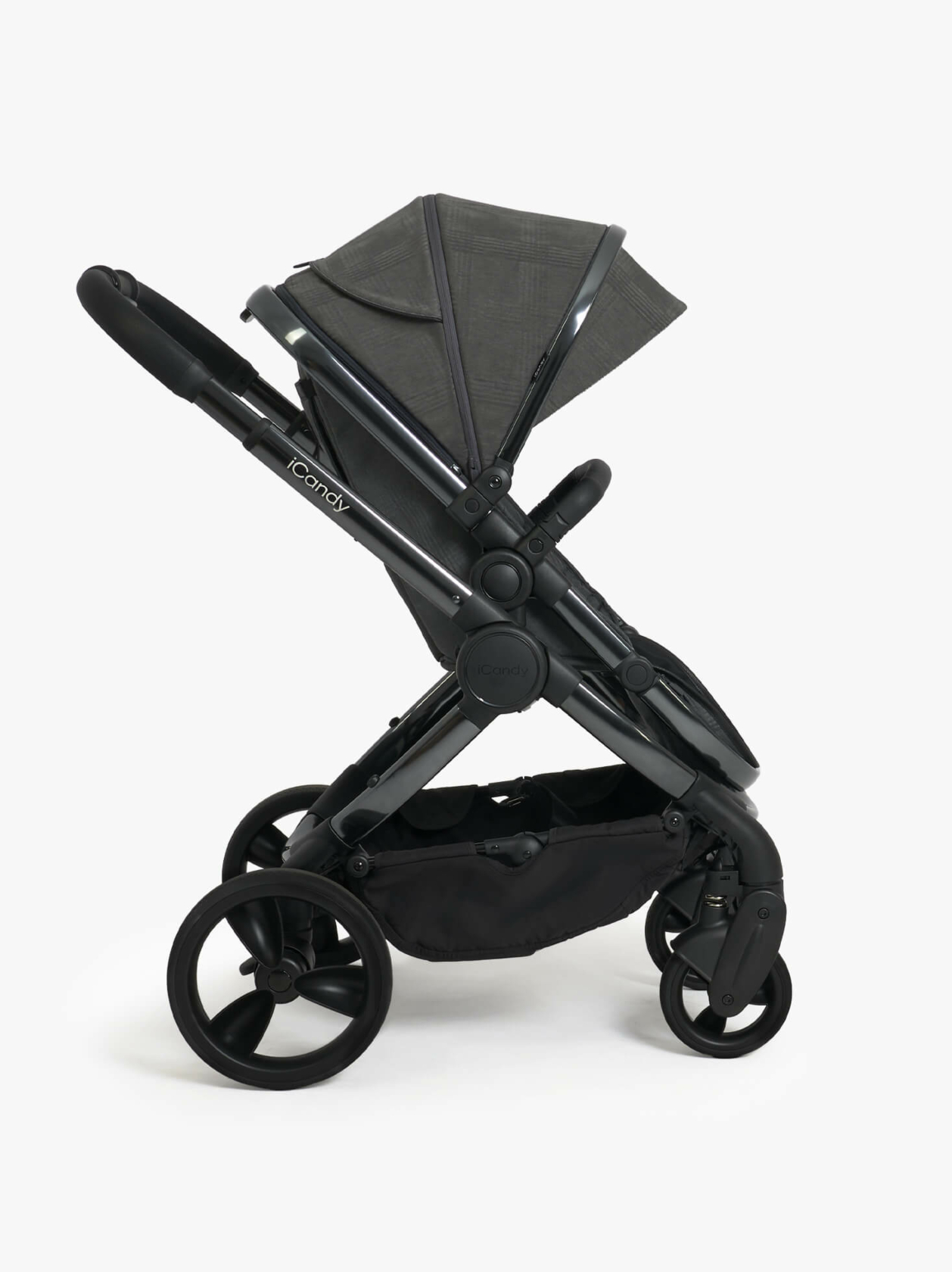 Peach Pushchair and Carrycot - Travel Accessory Deal