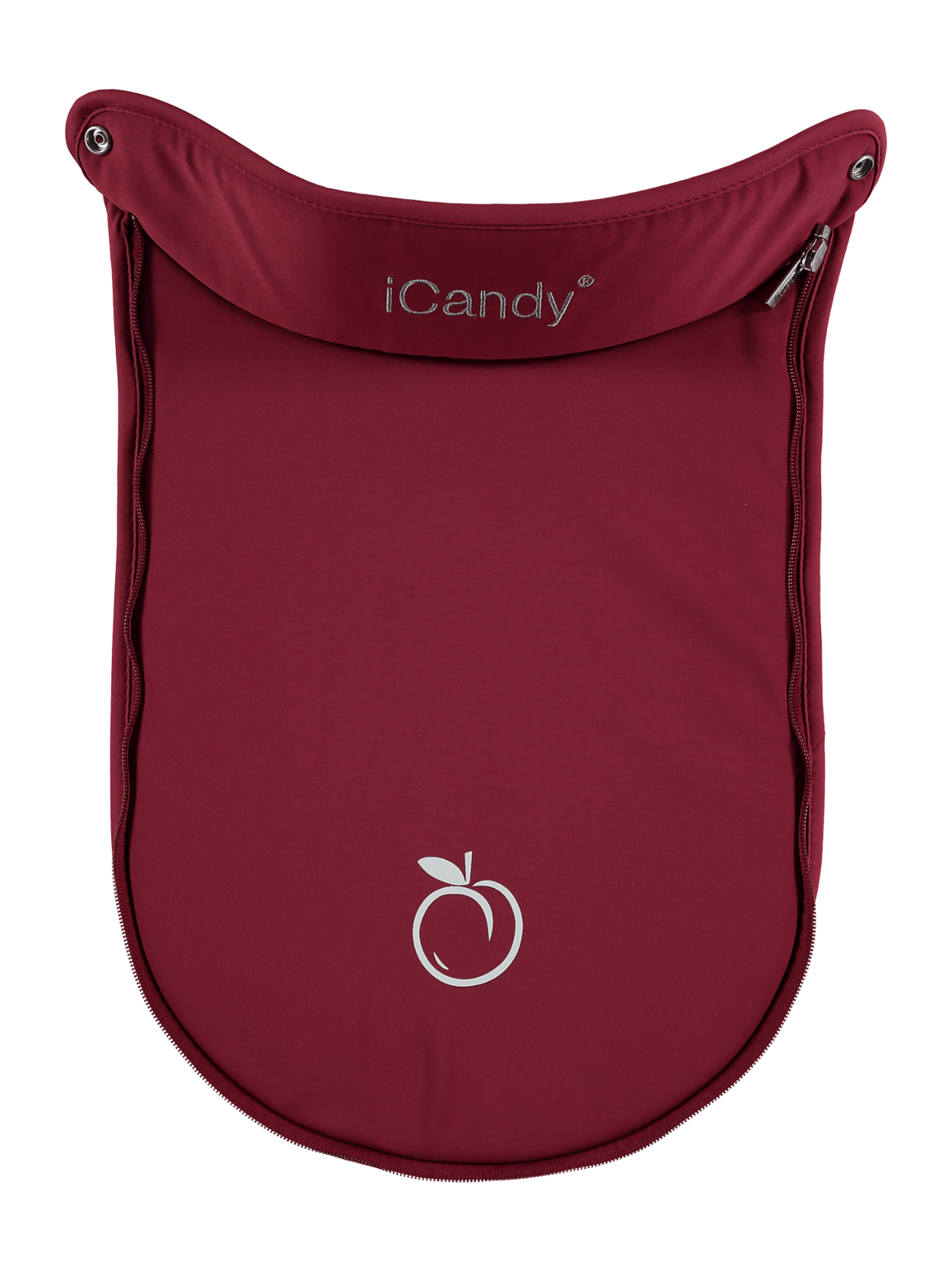 Peach Jogger Carrycot Apron Cranberry