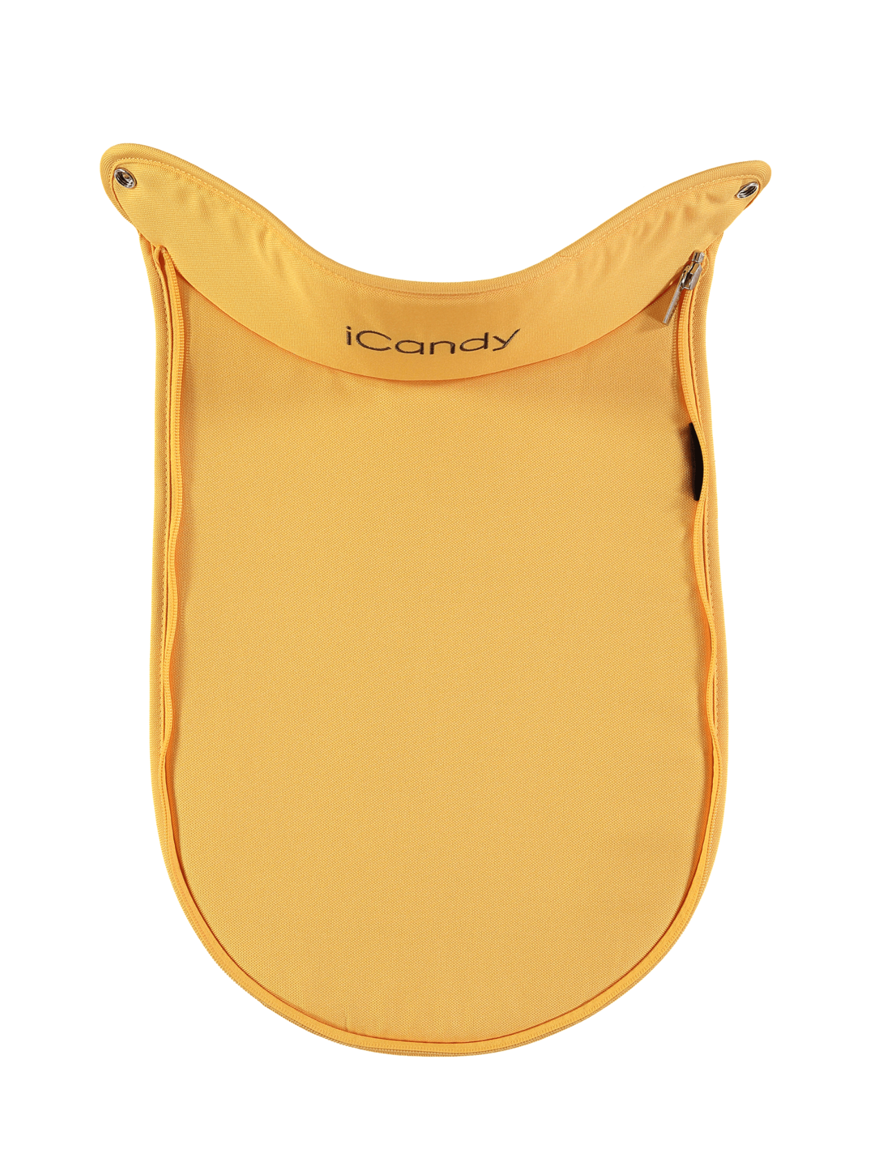 Peach Main Carrycot Apron Honeycomb