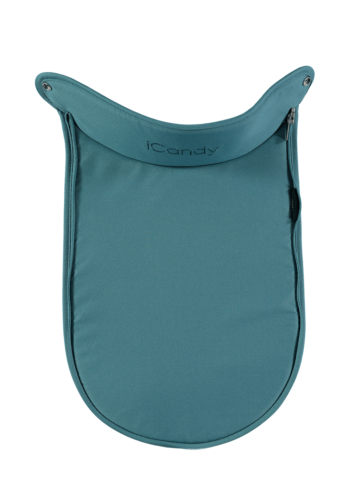 Peach Main Carrycot Apron Peacock