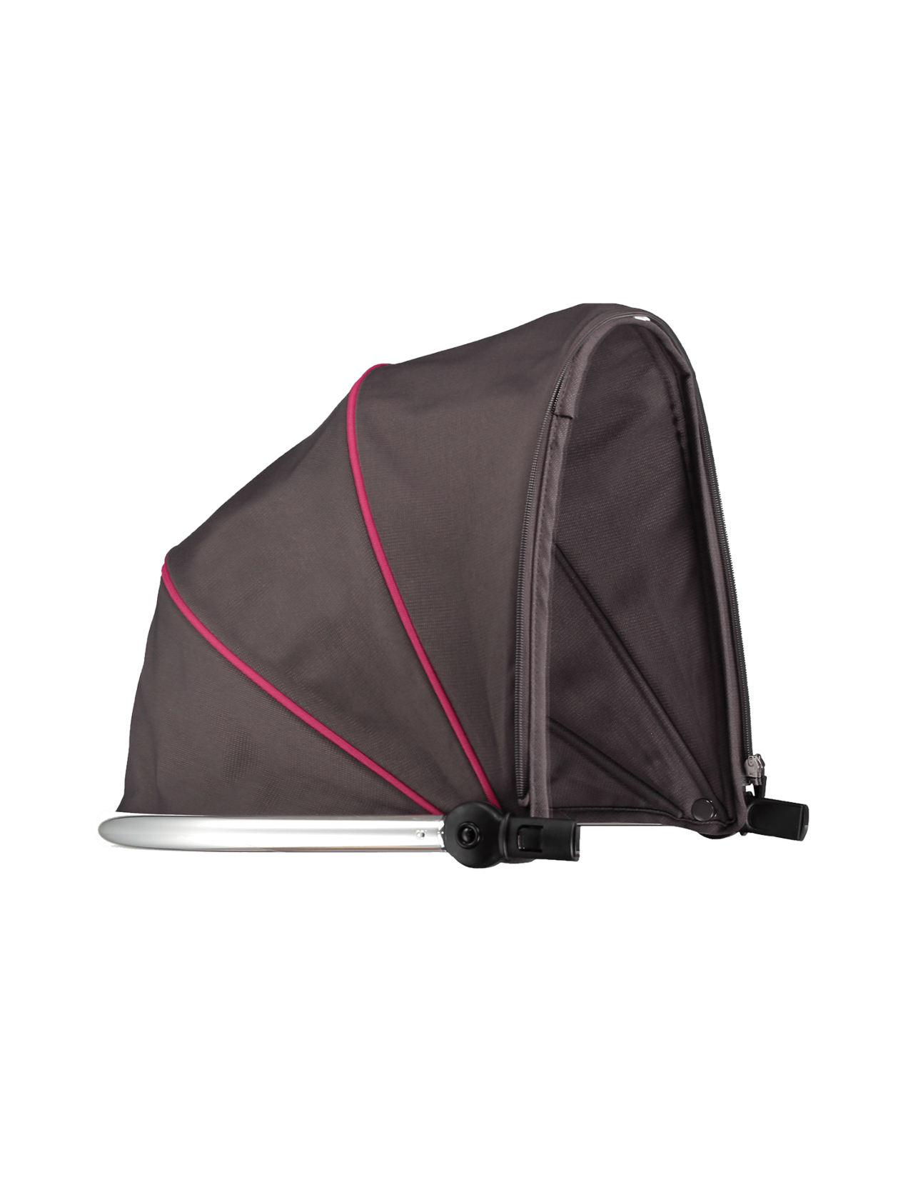 Peach Main Carrycot Hood - Berry Bon Bon