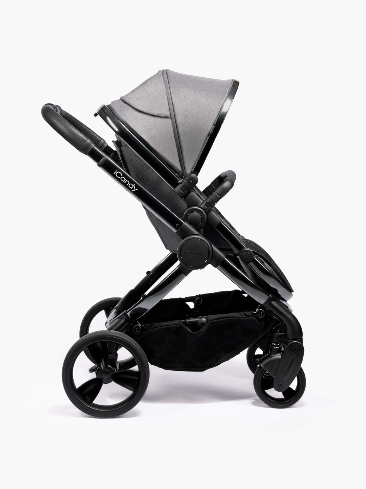 Peach Pushchair and Carrycot With Bag, Duo Pod & Ride-On Board