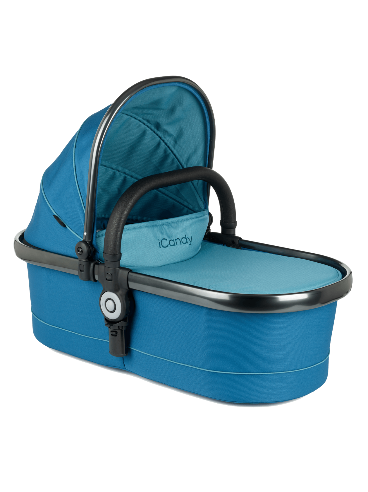 Peach Twin Carrycot Peacock