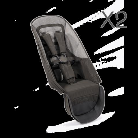 Peach All-Terrain Seat Unit Fabric x2