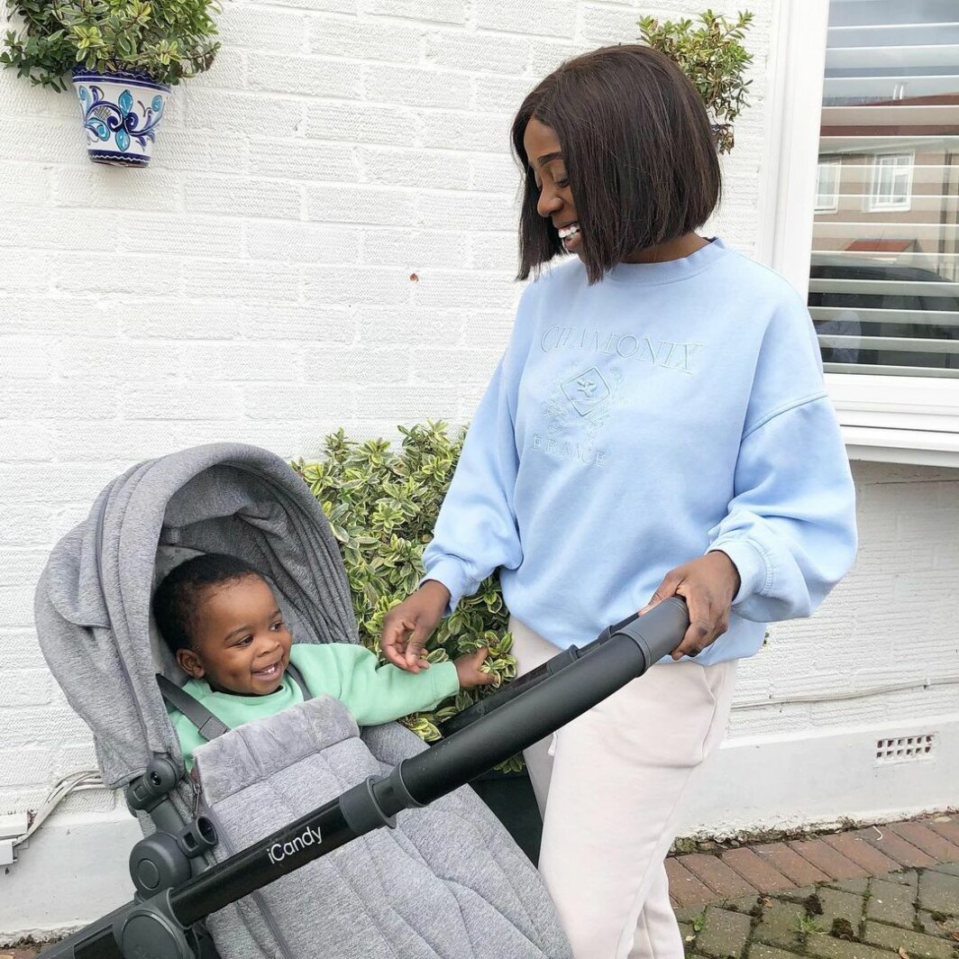 iCandy Orange Pushchair & Carrycot